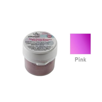 Poudre alimentaire SILIKOMART - Rose - 5gr