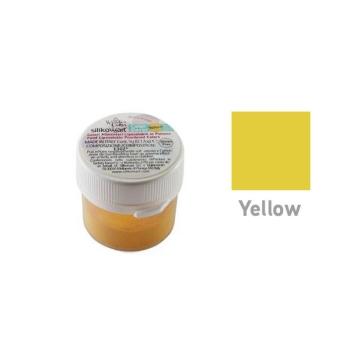 Colorant Alimentaire en poudre liposoluble - Jaune - 5gr