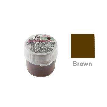 Colorant Alimentaire en poudre liposoluble - Brun - 5gr