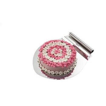 Plateau pour gâteau inox - Silikomart