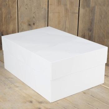 Cakebox Blanche  - 40 x 30 x 15 cm - P/1