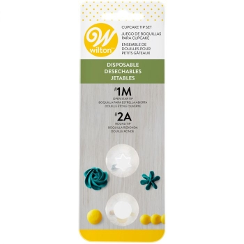 Douille jetables - set/1 - #1M, #2A - Wilton