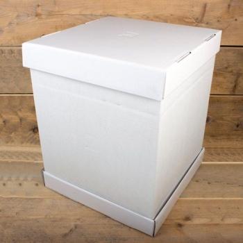 Cakebox Blanche  - 37x37x45 cm - P/1