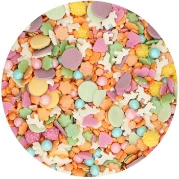 Confettis licorne en sucre - Funcakes - 50gr
