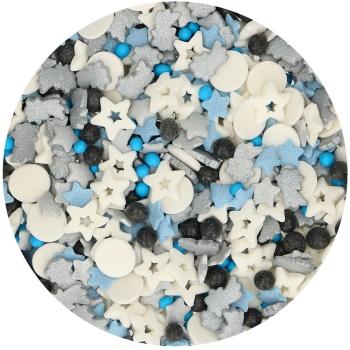 Confettis galaxy en sucre - Funcakes - 50gr