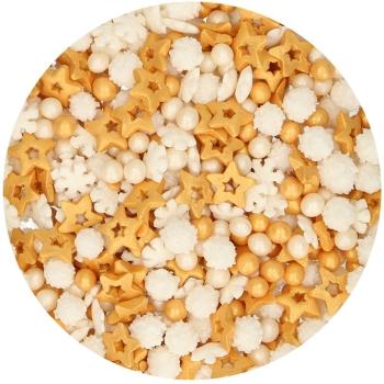 Confettis or en sucre - Funcakes