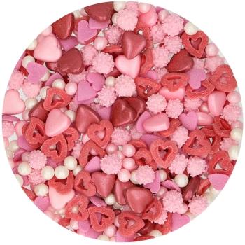 Confettis amour en sucre - Funcakes - 50gr