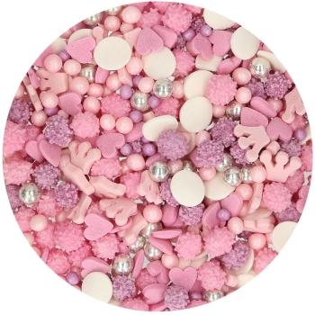 Confettis princesse en sucre - Funcakes - 50gr
