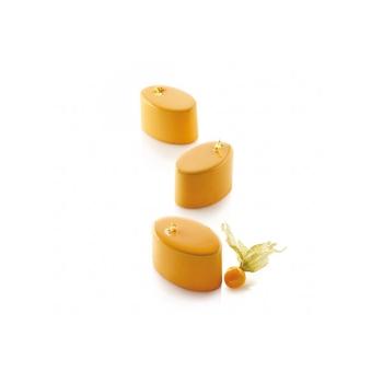 Multiflex Oval 125 - Set de 3 moules -
