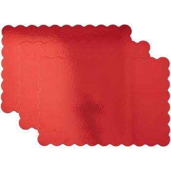 Plateaux à gâteaux Rouge - 33 x 48,2 cm