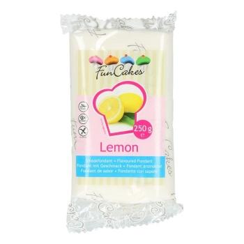 FunCakes Fondant aromatisé - Citron - Halal / Casher - 250g