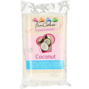 FunCakes Fondant aromatisé - Noix de coco - Halal - 250g