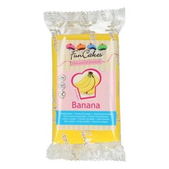 FunCakes Fondant aromatisé - Banane - Halal / Casher - 250g