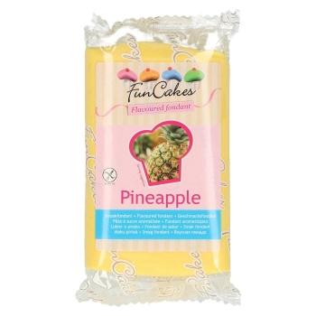 FunCakes Fondant aromatisé - Ananas - Halal - 250g