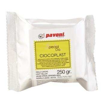 Chocolat plastique - Jaune - 250gr