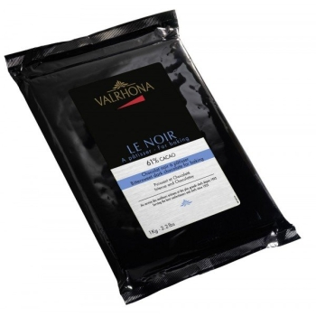 Bloc chocolat noir 61% 1kg - Valrhona
