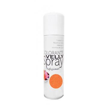 Spray EFFET VELOURS Colorant - Orange - RÉSERVÉ AUX PROFESSIONNELS ET AU CAP