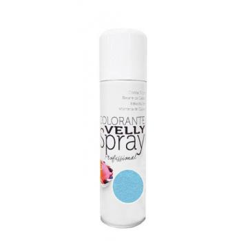 Spray EFFET VELOURS Colorant - Bleu - RÉSERVÉ AUX PROFESSIONNELS ET AU CAP