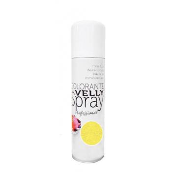 Spray EFFET VELOURS Colorant - Jaune - RÉSERVÉ AUX PROFESSIONNELS ET AU CAP