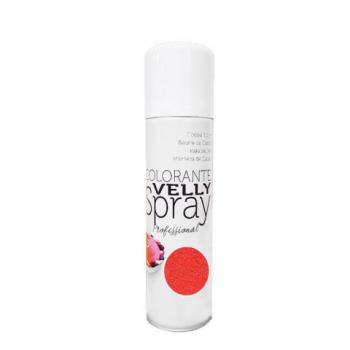 Spray EFFET VELOURS Colorant - Rouge - RÉSERVÉ AUX PROFESSIONNELS ET AU CAP