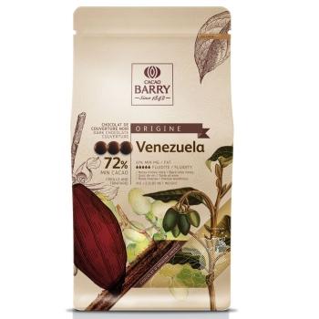CHOCOLAT DE COUVERTURE VENEZUELA 72% - SACHET DE 1KG - CASHER