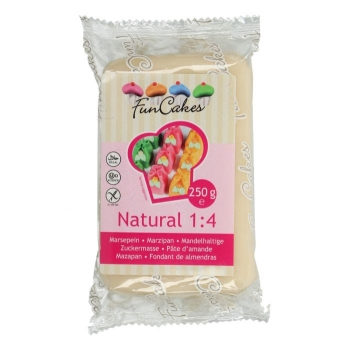 Pâte d'amande naturelle - Funcakes - 250g - Halal/Casher