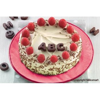 SF169 - Plaque chocolat Easy choc  - Choco ABC