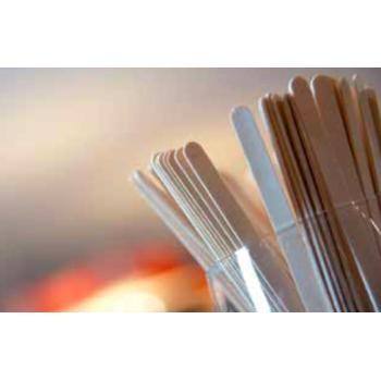 Bâtonnets à sucette & glaces - Bouleau naturel - 1000 unités
