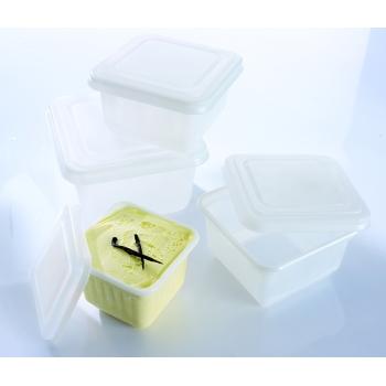 Moules à glace carrés - Par 25 unités