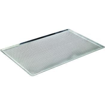 Plaque aluminium perforée (perforations 3 mm) - Epaisseur 15/10