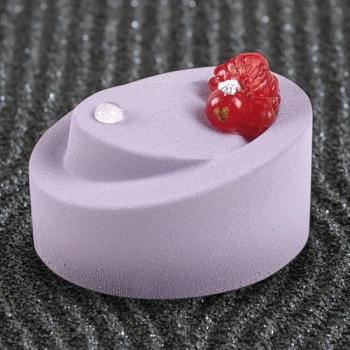 Moule silicone Pavoflex - 24 ovales inclinés