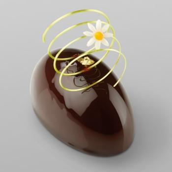 Noël : Moule silicone Pavoflex - 25 ovales