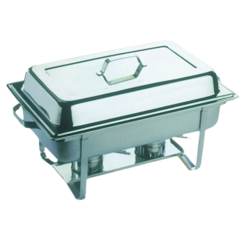 Chafing dish avec couvercle inox - 9 LITRES