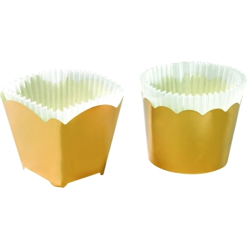 Caissettes à glace or - P/100