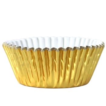 PME - caissettes à Cupcakes - Or métalisé - P/30