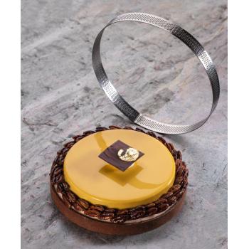 Cercle en acier micro perforé - en collaboration avec Gianluca Fusto