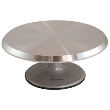 Plateau tournant aluminium - 29 cm