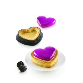 Kit mini  tarte coeur -  Petit amour