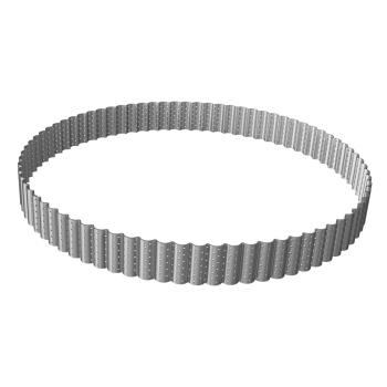 Cercle à tarte perforé cannelé hauteur 3cm