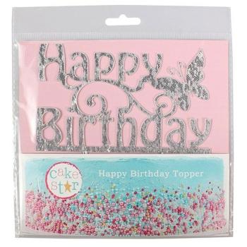 CAKE STAR DÉCOR GÂTEAU HAPPY BIRTHDAY