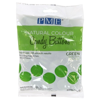 PME - PISTOLES CANDY BUTTONS - COLORANT NATUREL VERT - 200G