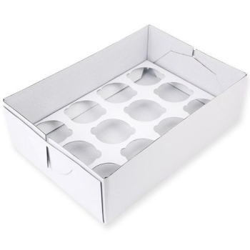 PME CUPCAKE BOX 12 - 9 CM HIGH