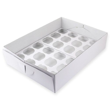 PME - CUPCAKE BOX 24 - 9 CM HIGH
