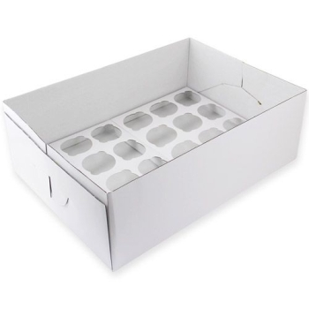 PME - CUPCAKE BOX 24 - 14 CM HIGH