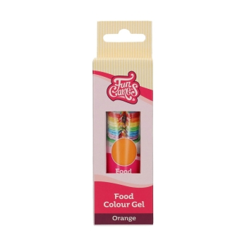 Colorant Gel FunCoulours - Orange - Halal