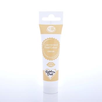 Colorant ProGel concentré 25g - Crème -Cream- Halal/Casher