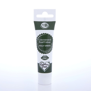 Colorant ProGel concentré 25g - Houx Vert - Halal/Casher-Holly Green