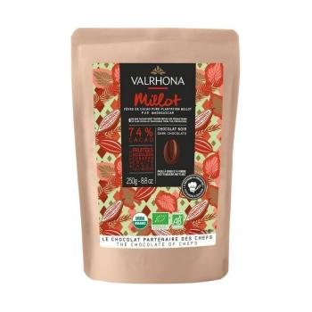 CHOCOLAT NOIR MILLOT 74% - 250 G