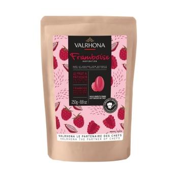 CHOCOLAT INSPIRATION FRAMBOISE - VALRHONA - 250 G
