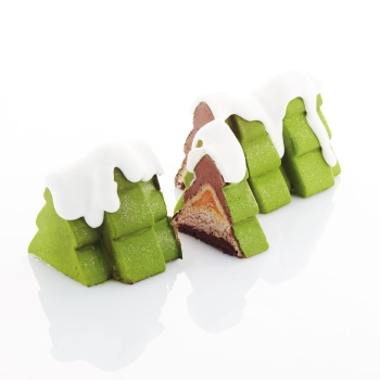 MOULE SILICONE PAVOCAKE FORÊT -  collaboration avec Frank Haasnoot